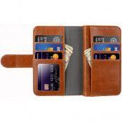 Melkco Wallet Extra Cardslots (iPhone X/Xs) - Brun