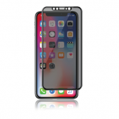 Curved Privacy Glass 2-way till iPhone X/Xs/11 Pro