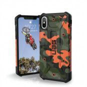 UAG Pathfinder Camo Case (iPhone X/Xs) - Svart/grå