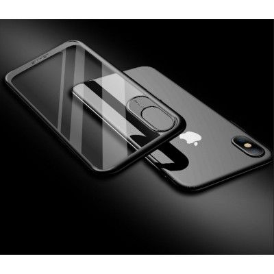 Usams Miya Case (iPhone X/Xs) - Röd