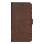Essentials iPhone XS Max Läder wallet avtagbar - Brun
