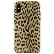 Puro Leopard Cover (iPhone Xs Max) - Ljusbrun