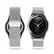 Hoco Melanese Rostfritt Stål Watchband till Samsung Gear S2 - Silver