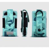 Rock Outdoor kamoflage mobilväska + armband (Ocean blue)