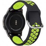 Tech-Protect armband Samsung Galaxy watch 3 41mm - Svart/Lime