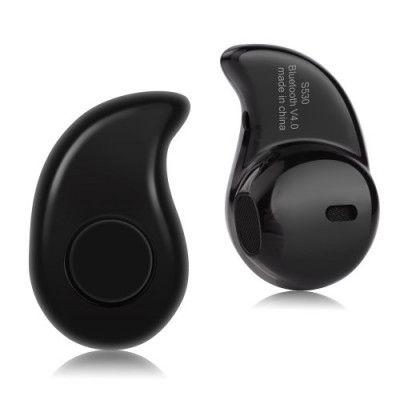 Bluetooth Earphone öronsnäcka med mic - Svart