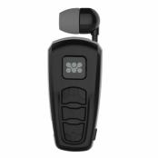 Promate ReTrax-2 - Bluetooth-headset med utdragbar öronsnäcka