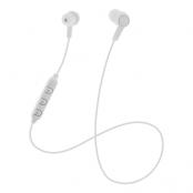 STREETZ In-ear Bluetooth headset, mediekontroller - vit