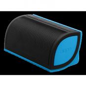 NYNE Mini Bluetooth-högtalare med 2200mA Li-Ion batteri, svart/blå