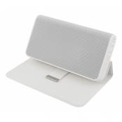 STREETZ Bluetooth högtalare med inbyggd power bank, 5200mAh, vit