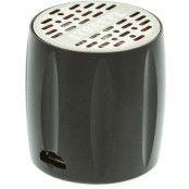STREETZ Mini högtalare med inbyggt batteri Svart