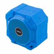 STREETZ vattentät Bluetooth högtalare, v2.1+EDR, IPX5 spolsäker, blå