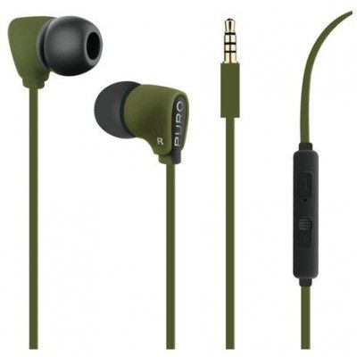 Puro Fine Stereo Headset - Röd