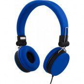 Streetz Wired Folding Headset  - Blå