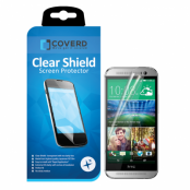 CoveredGear Clear Shield skärmskydd till HTC One M8 (2014) 2PACK