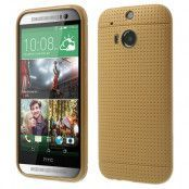 Dot Case FlexiSkal till HTC One (M8) - Gold