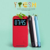 Nillkin Fresh Series fodral till HTC One M8 - (Röd)