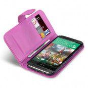Plånboksfodral HTC One M8 - Magenta