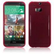 Skal till HTC One M8 - Röd