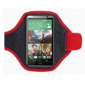 Sportarmband till HTC One M8 (Röd)