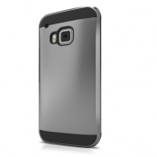 ITSkins Evolution Skal till HTC One M9 - Mörk Silver