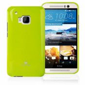 Mercury Jelly Flexicase Skal till HTC One M9 - Grön