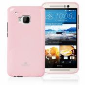 Mercury Jelly Flexicase Skal till HTC One M9 - Rosa