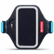 Shocksock Premium Sportarmband till HTC One M9 - Svart/Blå