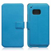 Slim Plånboksfodral till HTC One M9 - Blå
