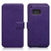 Slim Plånboksfodral till HTC One M9 - Lila