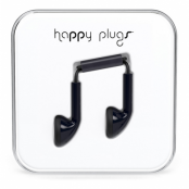 Happy Plugs Earbud (Svart)