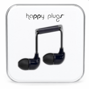 Happy Plugs In-Ear (Svart)