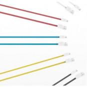 iHave Flat Micro USB kabel - 900mm - (Vit)