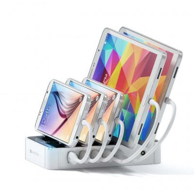 Satechi 5-Port USB Charging Station Dock - Vit