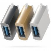 Satechi USB-C to USB-A 3.0 Adapter - Grå