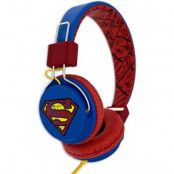 SUPERMAN Hörlur Teen Vintage On-Ear 110dB spärr