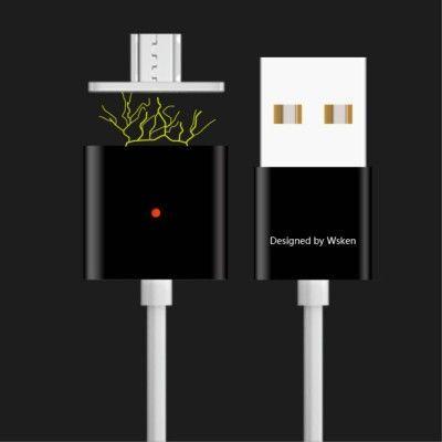WSKEN X-cable Magnetisk Micro USB-kabel