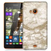 Skal till Lumia 535 - Marble - Beige
