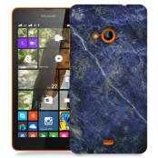 Skal till Lumia 535 - Marble - Blå