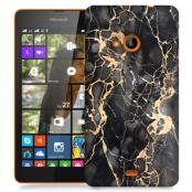Skal till Lumia 535 - Marble - Grå