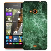 Skal till Lumia 535 - Marble - Grön