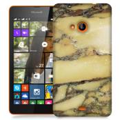 Skal till Lumia 535 - Marble - Gul