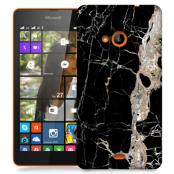 Skal till Lumia 535 - Marble - Svart