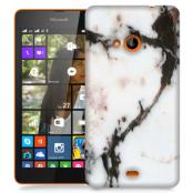 Skal till Lumia 535 - Marble - Vit