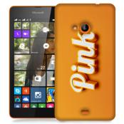 Skal till Lumia 535 - Pink - Orange