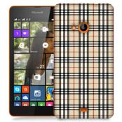 Skal till Lumia 535 - Rugit - Beige