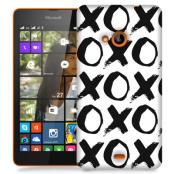 Skal till Lumia 535 - XoXo - Vit
