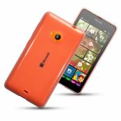 Terrapin Flexicase Skal till Microsoft Lumia 535 - Transparent