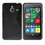 Flexicase Skal till Microsoft Lumia 640 XL - Svart