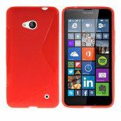 Flexicase Skal till Microsoft Lumia 640 - Röd